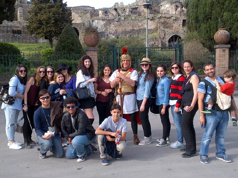 Educational Tours to Rome, Florence, Amalfi, Pompeii